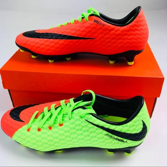 d7a79dd0ac32 Nike Hypervenom Phelon III FG Soccer Cleats Mens